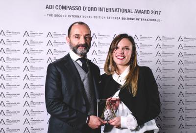 """Dainese Pro-Armor premiato con il """"Compasso d'Oro"""""""