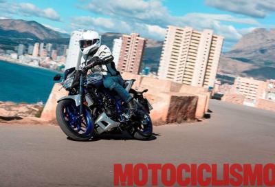 Richiamo per le Yamaha YZF-R3 e MT-03