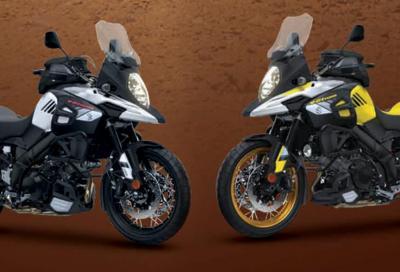 Da Suzuki due nuove versioni della V-Strom 1000