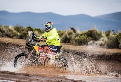 Dakar 2018: Meo show nella tappa 8. Van Beveren ancora leader
