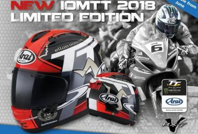 Arai svela il nuovo RX-7V IoM TT 2018