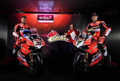 Il Team Aruba.it - Ducati pronto alla stagione 2018