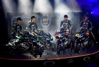 Moto3 e Moto2 2018: presentato lo Sky Racing Team VR46