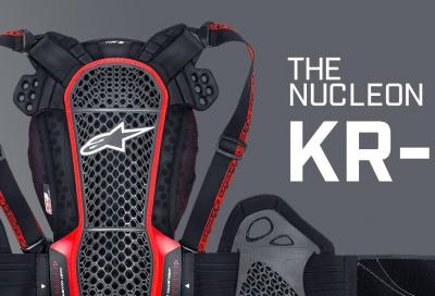 Nucleon KR-3: il paraschiena Alpinestars