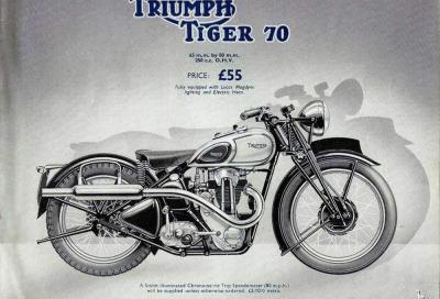 Triumph Tiger: la storia