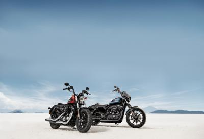 Le nuove H-D Sportster Iron 1200 e Forty-Eight Special