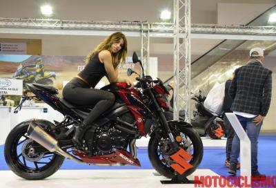 Suzuki GSX-S750 Yugen: il video da Roma Motodays