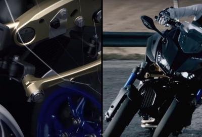Come curva la Yamaha Niken?