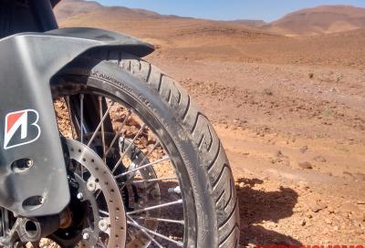 Bridgestone Battlax A41: il test in Marocco su strada e in off road