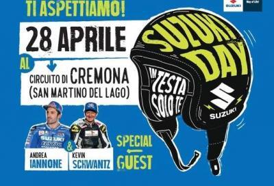 Schwantz e Iannone vi aspettano al Suzuki Day