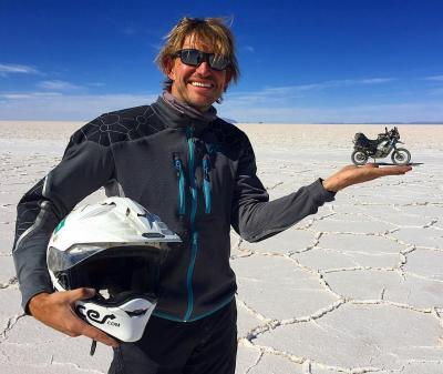 Il Giro del Mondo in moto, tra un rally e l'altro