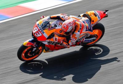 MotoGP: Marquez detta il passo nelle FP2 di Rio Hondo