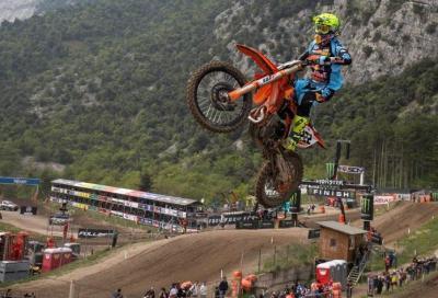 Le gare della MXGP in diretta su Rai Sport