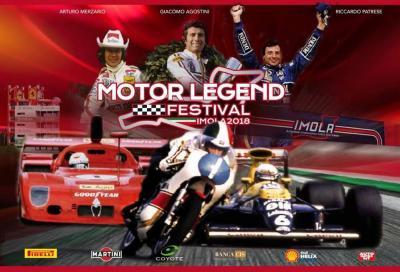 Motor Legend Festival: ad Imola motori in festa con Agostini, Read e Spencer