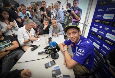 """Rossi: """"Su Marquez non ho cambiato idea, ma ora penso solo alla gara"""""""