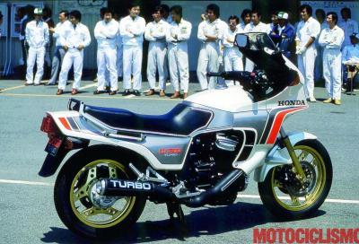 Honda CX500, la prima moto di serie Turbo
