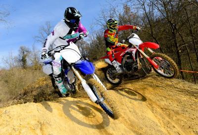 Comparativa MX2: Honda CRF250R vs Yamaha YZ250F