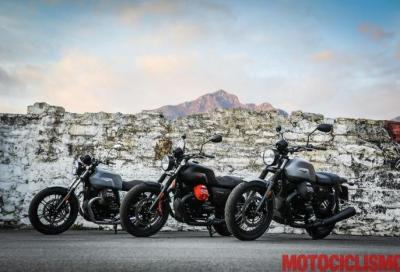 Moto Guzzi V7 III Carbon, Milano e Rough: i video