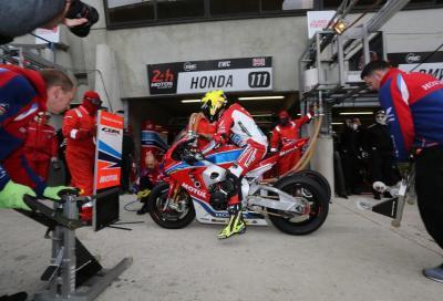 Un pit stop con il Team Honda Endurance al Bol d'Or