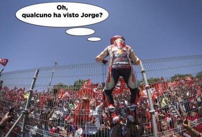 Il GP di Jerez... a fumetti