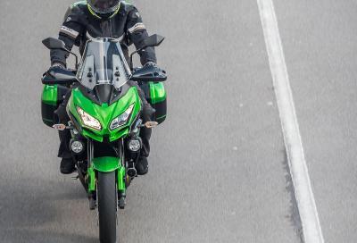 Parte il long test della Kawasaki Versys 650