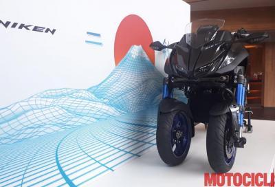 Yamaha Niken: il video live dalla presentazione, vi sveliamo il prezzo