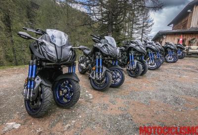 Yamaha Niken 2018, scommessa vincente!