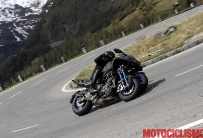 Yamaha Niken: il nostro video test