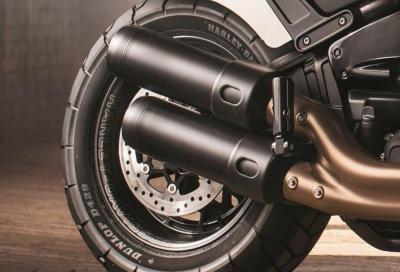 Dunlop D429, su misura per le Harley-Davidson Fat Bob