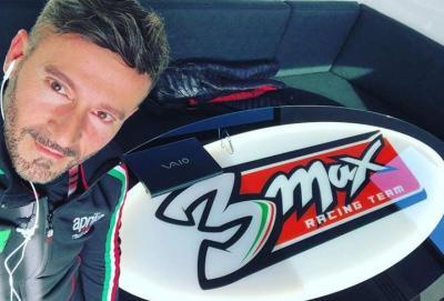 """Max Biaggi: """"Lo sapevo, ci sono cascato. Torno in pista"""""""