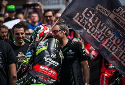 Brno: Jonathan Rea è il pilota più vincente di sempre in SBK