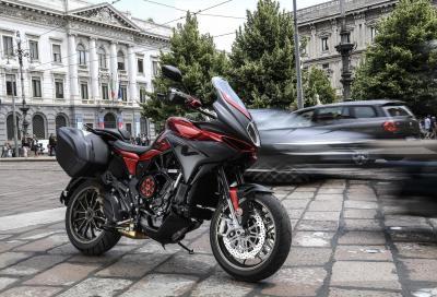 Svelata la nuova Turismo Veloce 800 Lusso SCS