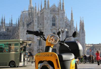 Lo scooter sharing elettrico MiMoto conquista Milano