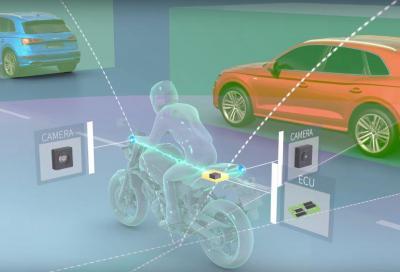 Ride Vision, telecamere a 360° e sensori anti-incidenti