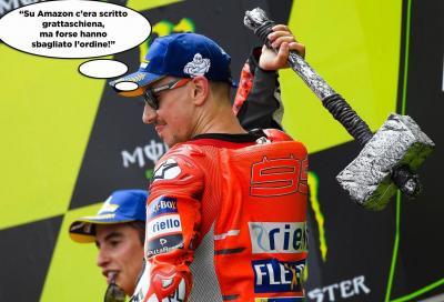 Il GP di Catalunya... a fumetti
