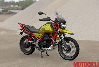 I segreti del motore della Moto Guzzi V85