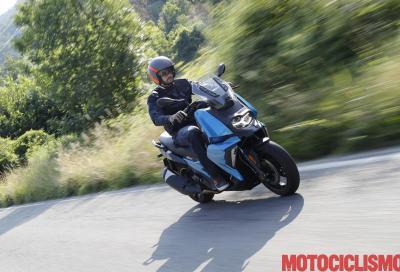 Test BMW C 400 X: media cilindrata, grande feeling