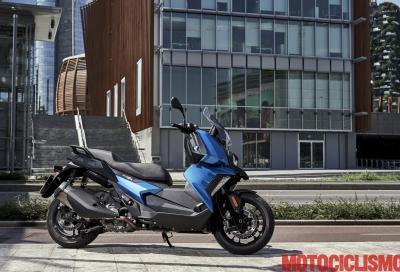 """""""Il C 400 X ha geometrie più simili alle moto che agli scooter"""""""