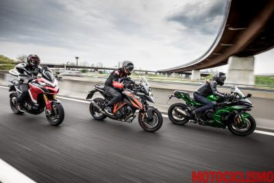 Sfida a 3 fra le Sport-Tourer: Ducati vs Kawasaki vs KTM