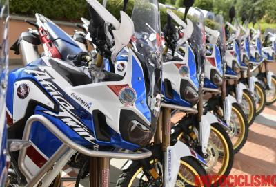 Honda True Adventure Toscana: polvere e benessere