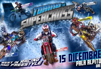 Il grande Supercross arriva a Torino, una serata di salti e show