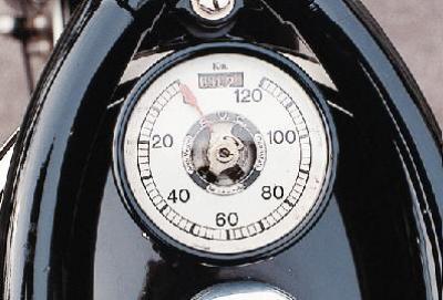 BMW R 39, il suo tachimetro di serie la rende unica