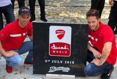 Posata la prima pietra del Ducati World a Mirabilandia