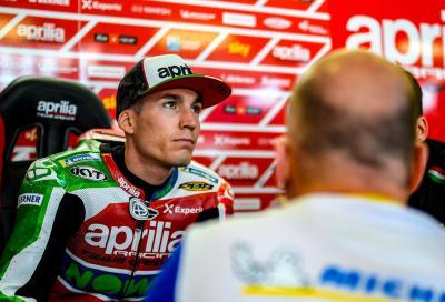 "Aleix Espargarò sul mercato piloti MotoGP: ""È una grande merda"""