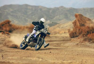 Sulle dune del deserto con la Tènèrè 700 World Raid