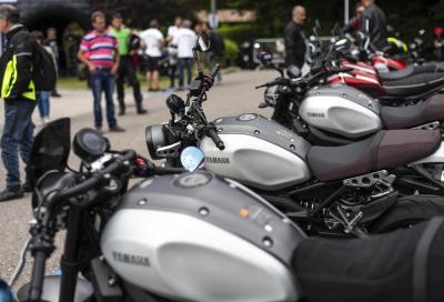 Dolomiti Ride, la grande festa Yamaha infiamma Molveno