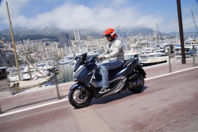 Honda Forza 125 e Forza 300, agili e raffinati