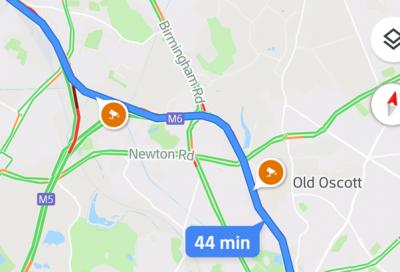 """Google Maps lancia la funzione """"moto"""""""