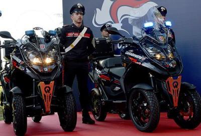 Due Quadro Qooder speciali per i Carabinieri