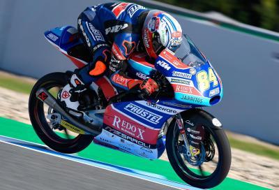 A Brno Kornfeil conquista la sua prima pole in Moto3